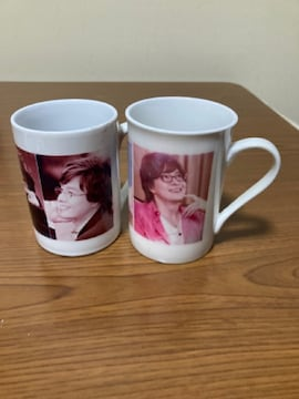 韓国大スター ヨン様 写真3枚いり マグカップ 未使用 2客