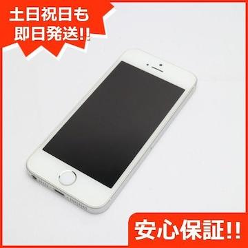 ●安心保証●良品中古●DoCoMo iPhoneSE 16GB シルバー●