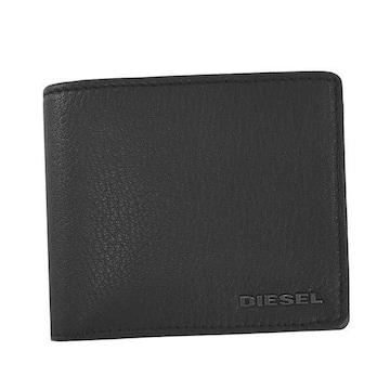 ★ディーゼル HIRESH S 2つ折財布(BK)『X06627 P0396』★新品本物★