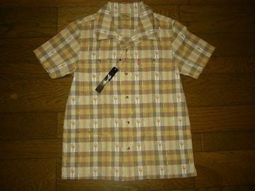 新品MARBLESマーブルズ半袖チェックシャツSラメドットTMT