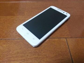 即落/即発!!美中古品 HW-01E Ascend ホワイト