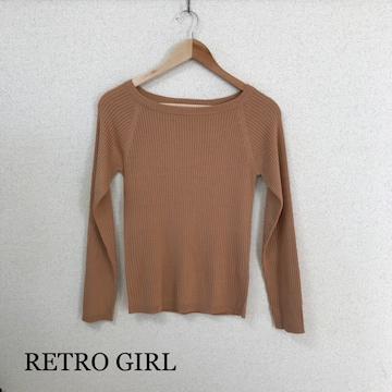 RETRO GIRL ニット