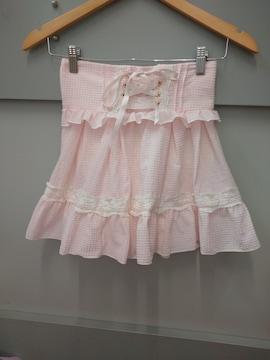 LIZ LISA☆ギンガムチェックスカパン