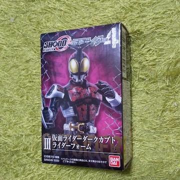 SHODO仮面ライダーダー4 ダークカブトライダーフォーム