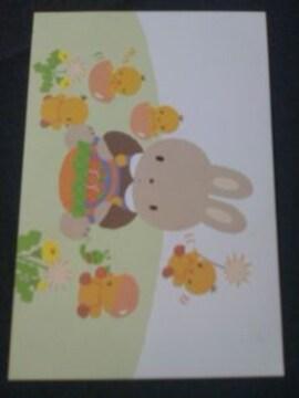 ◆ポストカード/うさぎ/ひよこ
