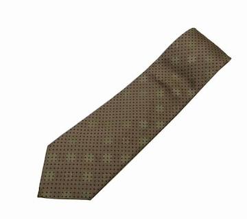 GUCCI グッチ ネクタイ シルク100% ブラウン系【送料無料】
