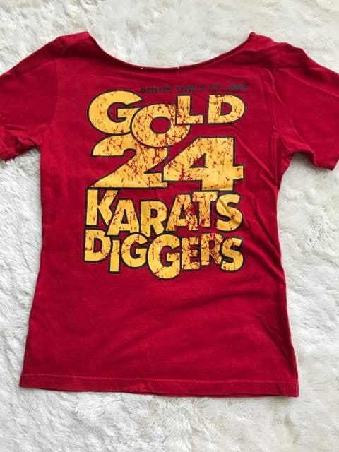 24Karats  首元切りっぱなしTシャツ  XSサイズ  < ブランドの