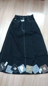 ピンクハウス状態良いブラックスカートW60センチ