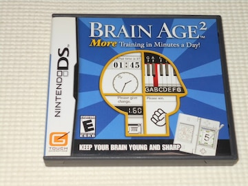 DS★BRAIN AGE 2 More Training in Minutes a Day! 海外版