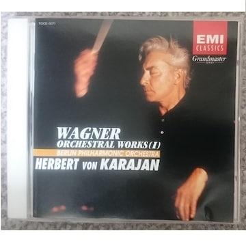 KF  ワーグナー 管弦楽曲集�T カラヤン ベルリンフィル