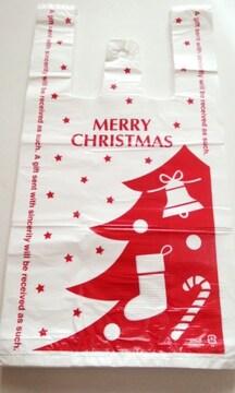 キュートレジバッグ★クリスマス30枚☆あると便利な柄レジ袋