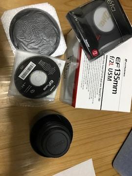 EF135mm F2L USM EFマウント Canon