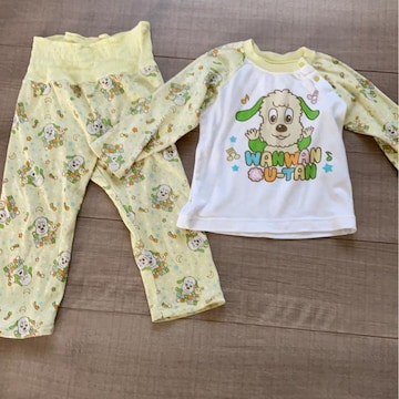 男女OK baby kidsうーたんパジャマ90長袖