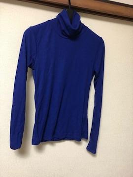 ブルー/タートル/青/トップス