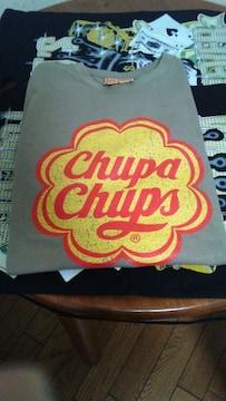 チュッパチャップスTシャツ�田hupa chupsオールドスクールアメカジ飴キャンデーレトロポップ