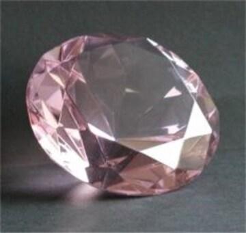 新品!ピンクダイヤモンド クリスタル