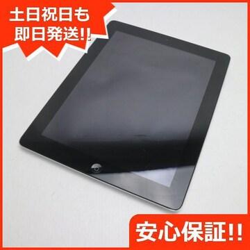 ●超美品●iPad第4世代Wi-Fi16GB ブラック●