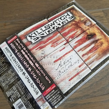 ★KILLSWITCH ENGAGE「ALIVE OR JUST BREATHING」国内盤帯付き