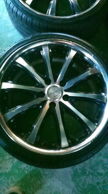4061792)ワークヴァリアンツァ4本8J+60 225/35R19ストリームステップワゴン送料無料 < 自動車/バイク