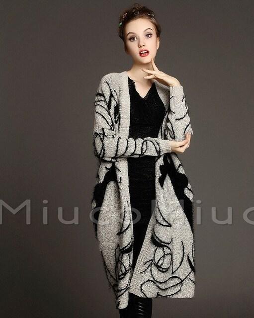 ZC2061767即決 新品 カーディガン エモダ マウジー イング GU 好きに < 女性ファッションの
