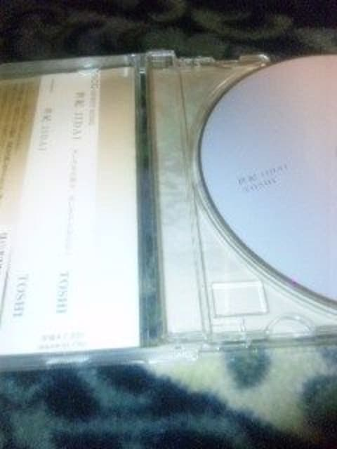CD TOSHI(X-JAPAN) 世紀JIDAI 帯あり < タレントグッズの