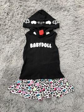 BABY DOLL★ノースリーブワンピース90