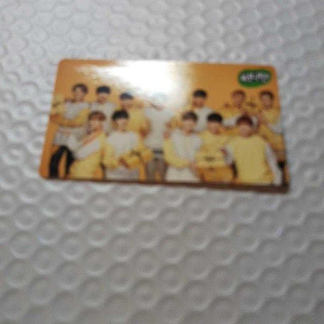 EXO SUHO Lotte Duty Free 時計 sunny10 公式トレカ付 < タレントグッズの
