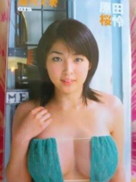 週刊大衆GTSテレカ-原田桜怜-新品