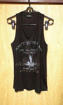 新品14th addiction DON'T JUDGE ME TANK 1黒