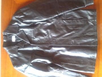 ★イタリア製の最高級レザージャケット黒です☆
