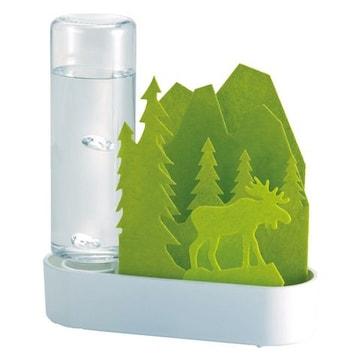 自然気化式ECO加湿器 うるおいちいさな森 グリーン