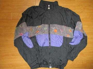 90年代 シャカシャカ ナイロンジャケット USA−レディースM