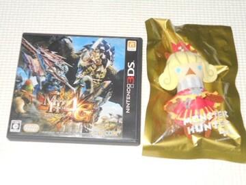 3DS★モンスターハンター4G イーカプコン限定 モンニャン隊
