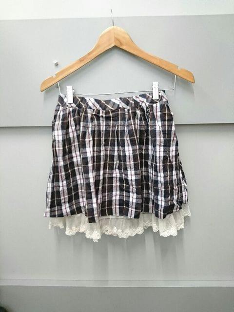 Ank Rouge☆チェック柄スカート < ブランドの