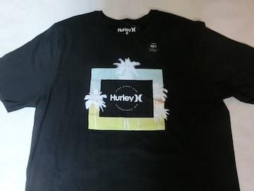 【Hurley】ヤシの木 南国風プリントTシャツUS L