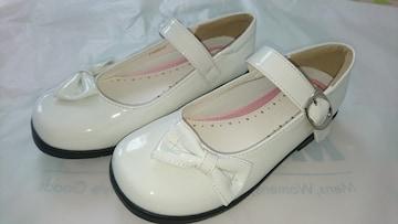 19.5〜20�p★女の子靴★新品同様★発表会、フォーマル等