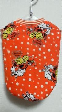 ハンドメイド*ヒスミニTシャツ*モンロー柄・オレンジ・水玉・ボーダー・犬用*S