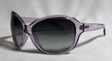 正規美 ドルチェ&ガッバーナ D&Gロゴサングラス紫 クリアパープル×ブラック ドルガバ