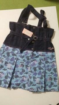 【新品タグ付】ラブメルヘン・ジャンパースカート155�p