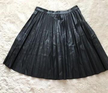 ZARA WOMAN  合皮風スカート XSサイズ