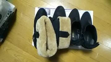 中古*冬用ショートパンプス*ブーツ*まとめ売り