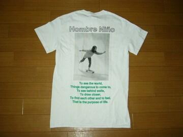 新品 HOMBER Nino オンブレニーニョ フォトTシャツ S 白 LIFE