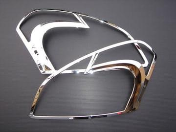 クロームメッキヘッドライトリング デュアリス J10