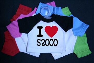 I LOVE ミニTシャツ S2000 各色有り