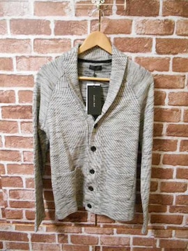 □ZARA/ザラ ニット ジャケット カーデ/メンズ/S/グレー☆新品