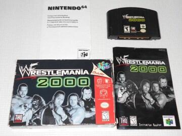 N64★WWF WRESTLEMANIA 2000