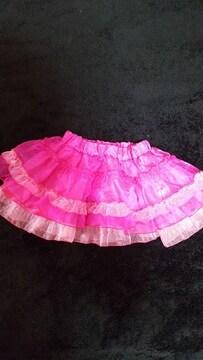 ☆新品同様アースマジック オーガンジースカート☆size110☆