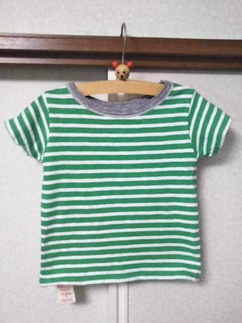 ●DENIM&DUNGAREE○デニム&ダンガリー●リバーシブルTシャツデニムシャツセット90 < ブランドの
