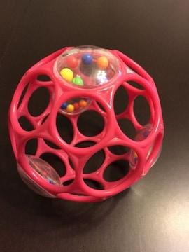 オーボール ラトル(ピンク)