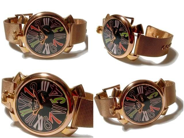 【世界250本限定】ガガミラノ/Gaga Milano スモセコ 腕時計★ < ブランドの
